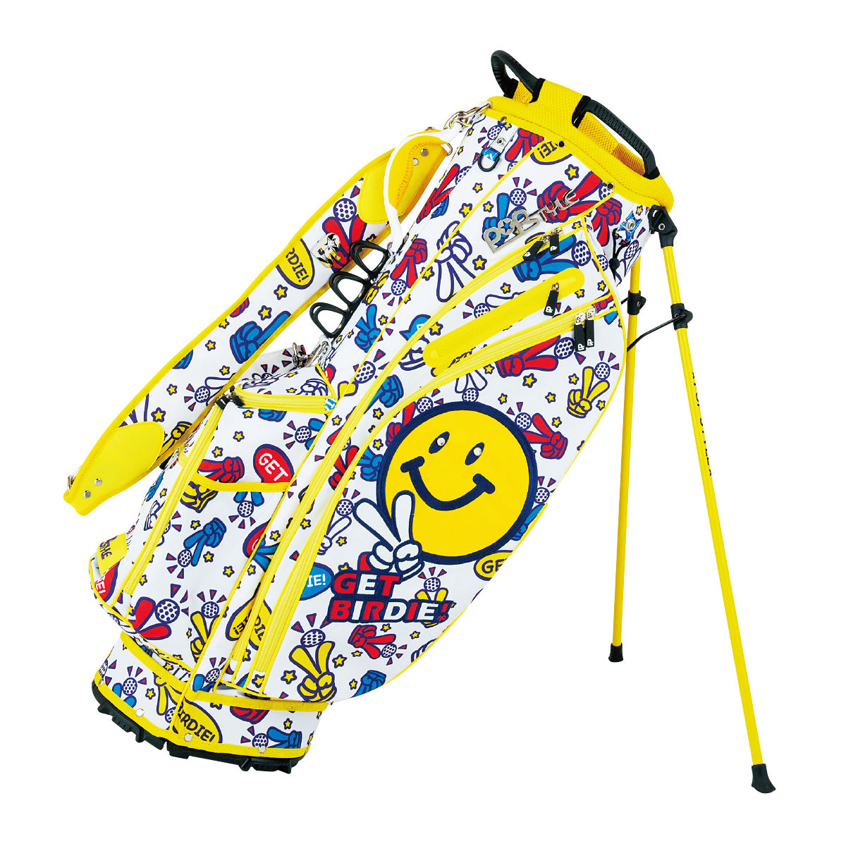 GET BIRDIE! PEACE LIGHT WEIGHT STAND BAG