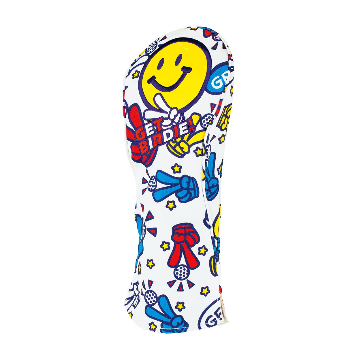 GET BIRDIE! PEACE HEAD COVER