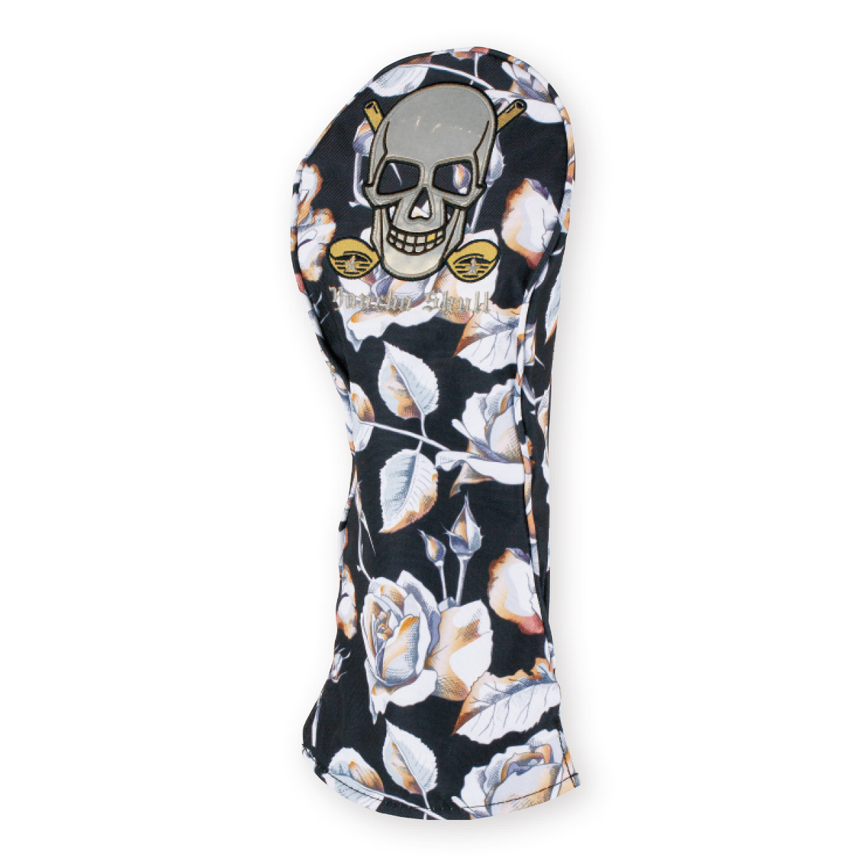 YANCHA SKULL ROSE HEAD COVER