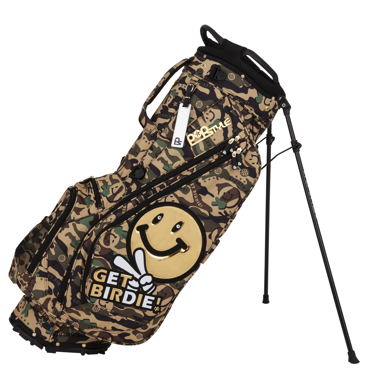GET BIRDIE! CAMO LIGHT WEIGHT STAND BAG